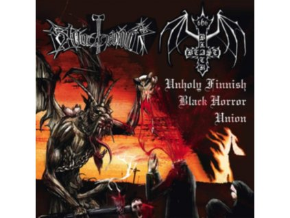 BLACK BEAST / BLOODHAMMER - Unholy Finnish Black Horror Union (LP)
