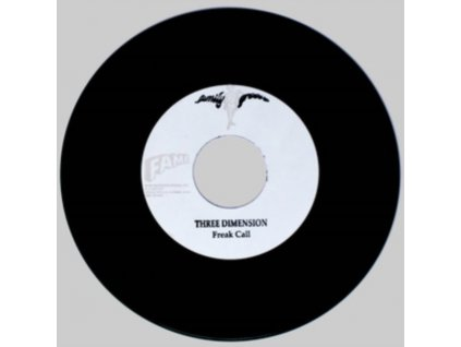"THREE DIMENSION - Freak Call / I Want You Back (7"" Vinyl)"