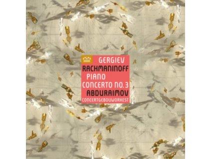 BEHZOD ABDURAIMOV / CONCERTGEBOUWORKEST & VALERY GERGIEV - Rachmaninoff: Piano Concerto No. 3 (LP)