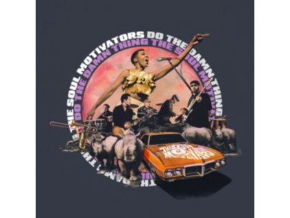 SOUL MOTIVATORS - Do The Damn Thing (LP)