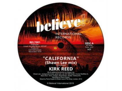 "KIRK REED - California (7"" Vinyl)"