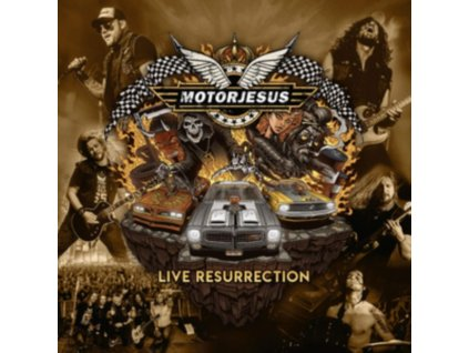 MOTORJESUS - Live Resurrection (LP)