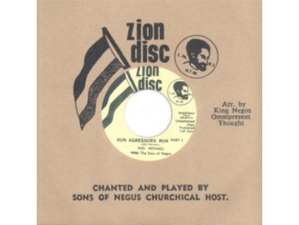"""SONS OF NEGUS - Run Agressors Run (7"""" Vinyl)"""