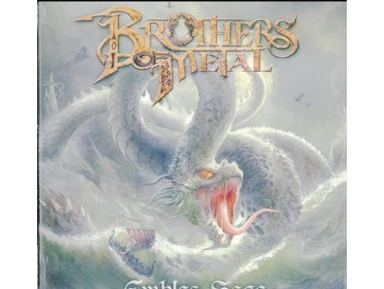 BROTHERS OF METAL - Emblas Saga (Clear Yellow Vinyl) (LP)
