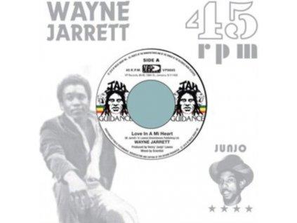 "WAYNE JARRETT - Love In A Mi Heart (7"" Vinyl)"