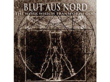 BLUT AUS NORD - The Work Which Transforms God (Half Clear/Half Black Vinyl) (LP)