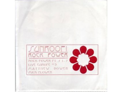 SUNROOF - Rock Power (LP)