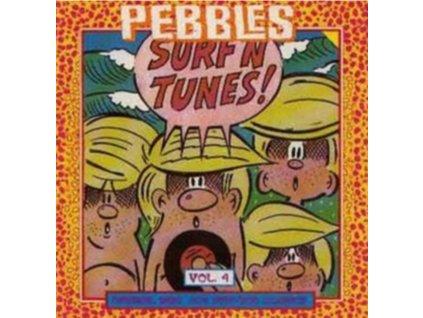 VARIOUS ARTISTS - Pebbles 4 Surf N Tunes (LP)