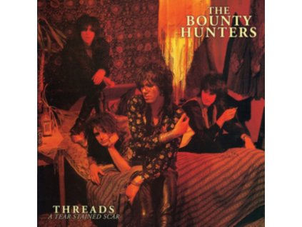 DAVE KUSWORTH & THE BOUNTY HUNTERS - Threads...A Tear Stained Scar (Red Vinyl) (LP)