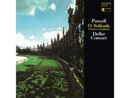 ALFRED DELLER / DELLER CONSORT / THE DELLER CHOIR - Purcell: O Solitude (LP)