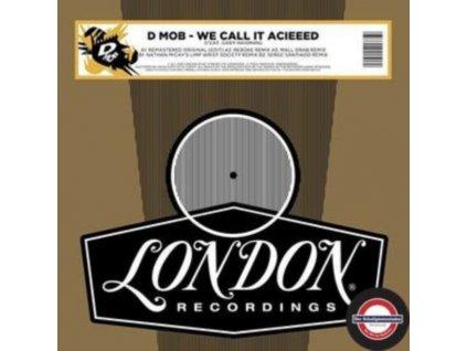 """D-MOB - We Call It Acieed (Remixes) (Rsd 2020) (12"""" Vinyl)"""