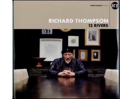 RICHARD THOMPSON - 13 Rivers (LP)