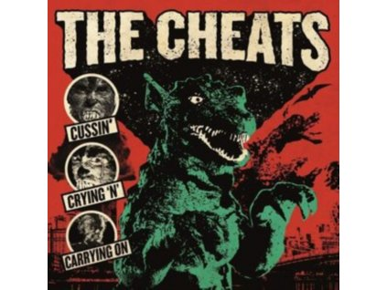CHEATS - Cussin. Crying N Carrying On (LP)