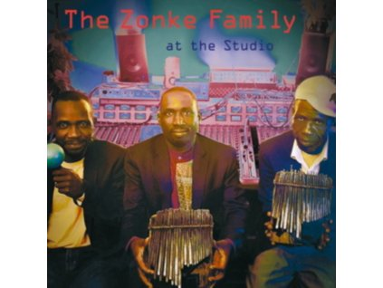 ZONKE FAMILY - At The Studio (LP)