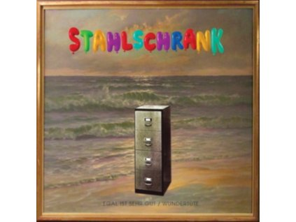 """STAHLSCHRANK - Egal Ist Sehr Gut / Wundert[?]Ote (12"""" Vinyl)"""