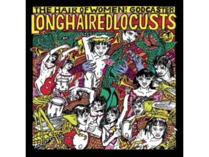 GODCASTER - Long Haired Locusts (LP)