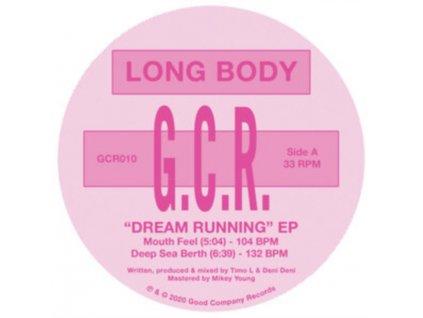 """LONG BODY - Dream Running (Ep) (12"""" Vinyl)"""