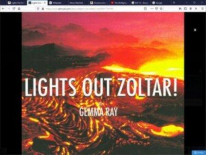 GEMMA RAY - Lights Out Zoltar! (LP)