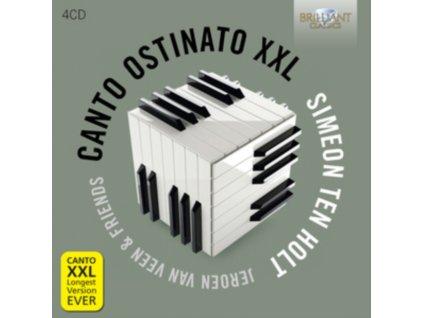 SANDRA & JEROEN VAN VEEN - Ten Holt - Canto Ostinato Xxl (CD)