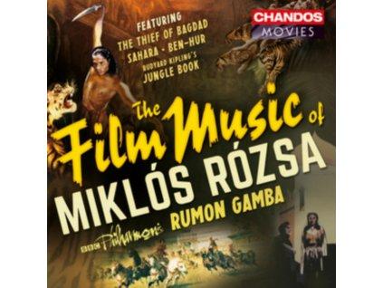 BBC POGAMBA - The Film Music Of Miklos Rozsa (CD)