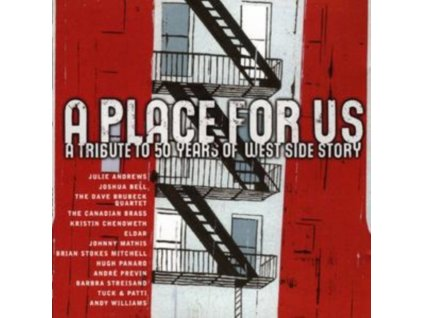 VARIOUS ARTISTS - A Place For Us  A Tribute To 50 Years Of West Side Story (CD)