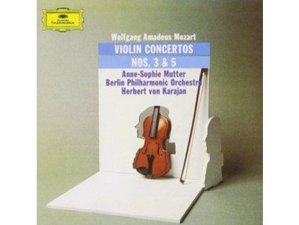 ANNE-SOPHIE MUTTER - Mozart/Violin Concertos 3 & 5 (LP)