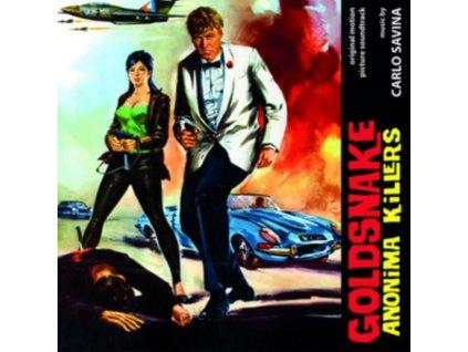 ORIGINAL SOUNDTRACK / CARLO SAVINA - Goldsnake Anonima Killers (CD)