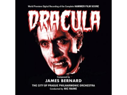 NIC RAINE & THE CITY OF PRAGUE PHILHARMONIC ORCHESTRA - Dracula / The Curse Of Frankenstein (CD)