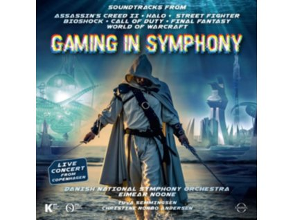 DANISH NATIONAL SYMPHONY ORCHESTRA / EIMEAR NOONE - Gaming In Symphony (Halo / Assassins Creed / Street Fighter / World Of Warcraft & Others) (CD)