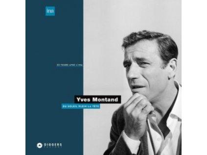 YVES MONTAND - Du Soleil Plein La Tete (LP)