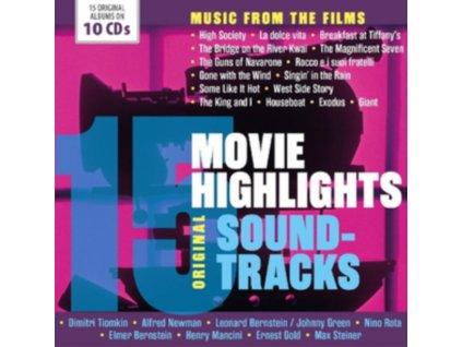 VARIOUS ARTISTS - 15 Movie Highlights - OST (CD Box Set)