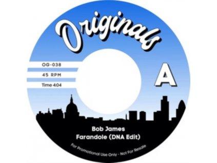 "BOB JAMES / DJ MUGGS / PLANET ASIA - Farandole (Dna Edit) / Lions In The Forest (7"" Vinyl)"