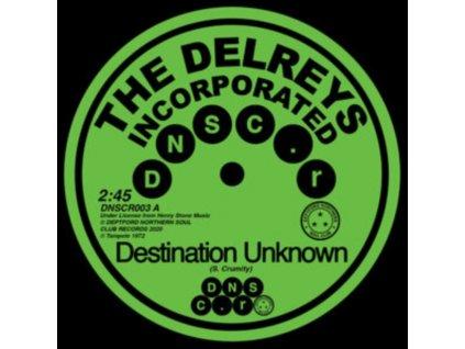 """DELREYS INCORPORATED - Destination Unknown (7"""" Vinyl)"""