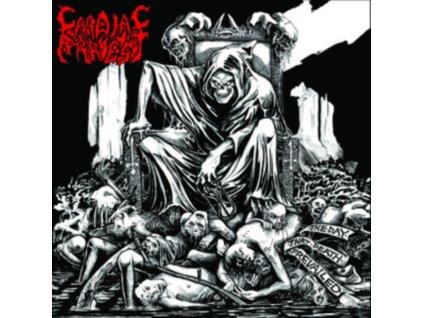 CARDIAC ARREST - The Day That Death Prevailed (Metallic Silver Version) (LP)