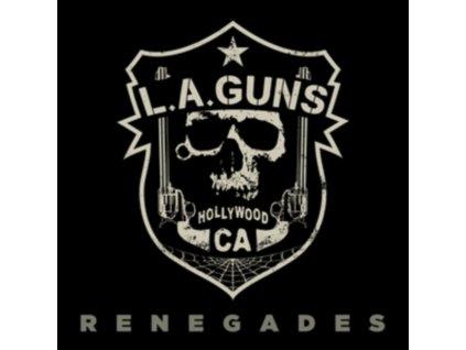 LA GUNS - Renegades (Blue Transparent Vinyl) (LP)
