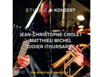 JEAN-CHRISTOPHE CHOLET / MATTHIEU MICHEL & DIDIER IRTHUSARRY - Studio Konzert (Limited Edition) (LP)