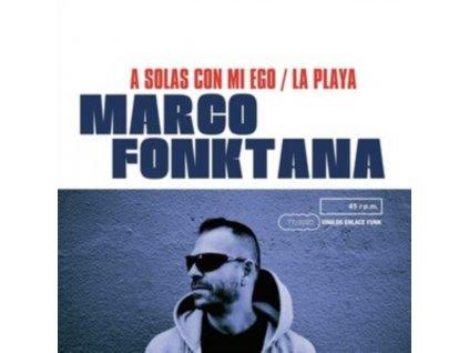 """MARCO FONKTANA - A Solas Con Mi Ego / La Playa (7"""" Vinyl)"""