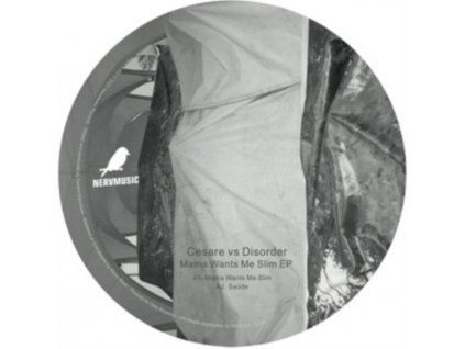 "CESARE VS DISORDER - Mama Wants Me Slim EP (12"" Vinyl)"