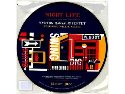 "WYNTON MARSALIS SEPTET - Night Life (Ft Willie Nelson) / Im Gonna Find Another You (Ft John Mayer) (Picdisc) (Rsd) (10"" Vinyl)"