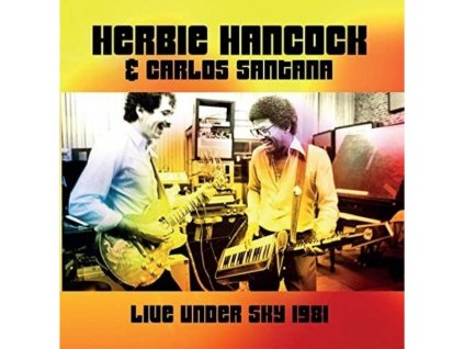 HERBIE HANCOCK & CARLOS SANTANA - Live Under The Sky 81 (LP)