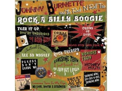JOHNNY BURNETTE  THE ROCK N ROLL TRIO - Rock A Billy Boogie (LP)