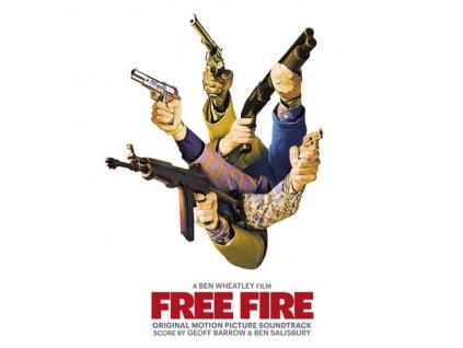 GEOFF BARROW & BEN SALISBURY - Free Fire - OST (LP)