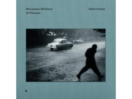 GIDON KREMER - Mieczyslaw Weinberg: 24 Preludes For Violin Solo (LP)