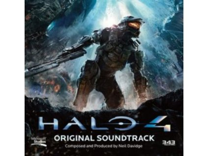 ORIGINAL SOUNDTRACK - Halo 4 (Neil Davidge) (CD)