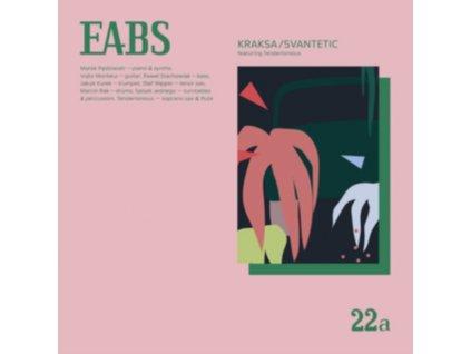"EABS - Kraksa / Svantetic (Feat. Tenderlonious) (12"" Vinyl)"