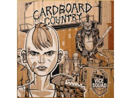 VICE SQUAD - Cardboard Country (LP)