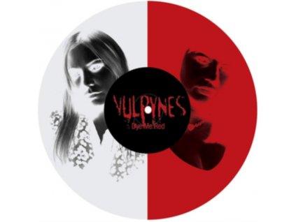"VULPYNES - Dye Me Red (Clear & Red Vinyl) (10"" Vinyl)"