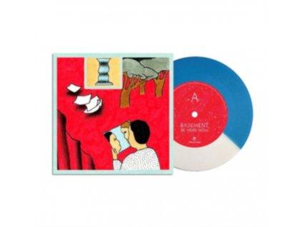 """BASEMENT - Be Here Now (White / Blue Vinyl) (Rsd 2019) (7"""" Vinyl)"""