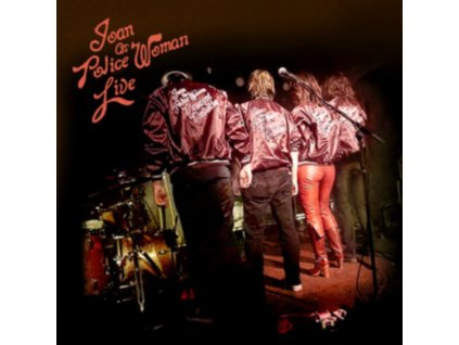 JOAN AS POLICE WOMAN - Live (LP)