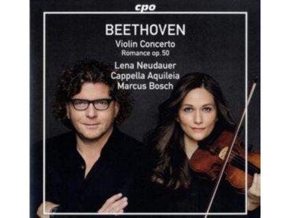 NEUDAUER / CAP AQUILEIA / BOSCH - Ludwig Van Beethoven: Violin Concerto Op. 61 / Romance For Violin & Orchestra No. 2 In F Major Op. 50 (LP)